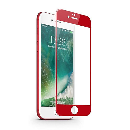 JCPAL Armor 3D Glass Screen Protector (0.26mm; Red) for iPhone7