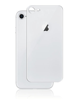 JCPAL Armor 3D Back Glass Screen Protector(0.26mm;Sliver)iPhone8