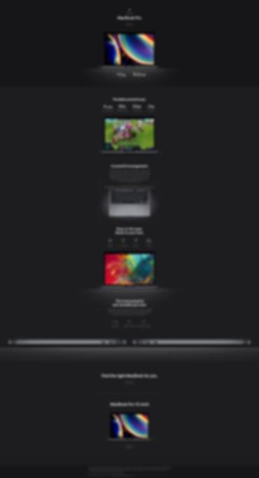 MacBook Pro overview