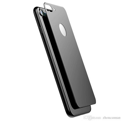 JCPAL Armor 3D Back Glass Screen Protector(0.26mm;Grey)for iPhone8