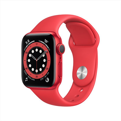 Apple Watch S 6 GPS, Aluminum Case with Sport Band-Regular
