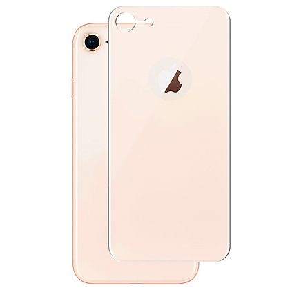 JCPAL Armor 3D Back Glass Screen Protector(0.26mm; Gold) iPhone 8
