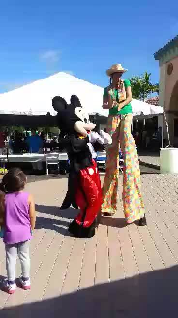 I LOVE my job! It's not everyday I get to Party Rock with Mickey Mouse! A big shout out to my new fan Tiffany for the awesome video!