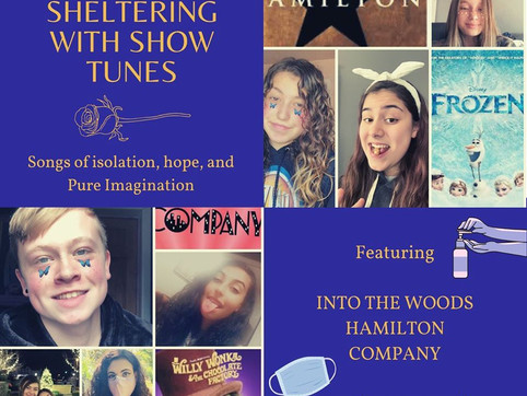 Sheltering With Showtunes: Songs of Isolation, Hope & Pure Imagination