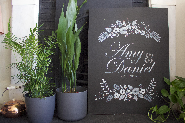 Wedding board