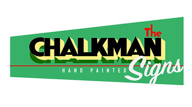 The Chalkman Hand Painted Signs logo