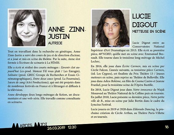Théâtre 13 Lucie Digout