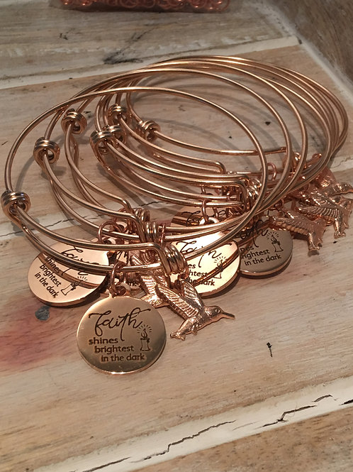 2019 G3W Hummingbird Inspirational Bangle