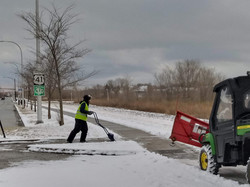 Snow Clearing by Hand or Machine