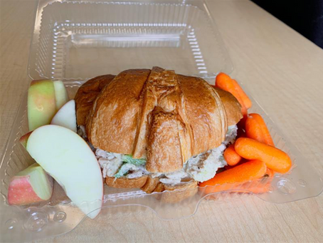 Lunch is free for every child at Roxhill this year.