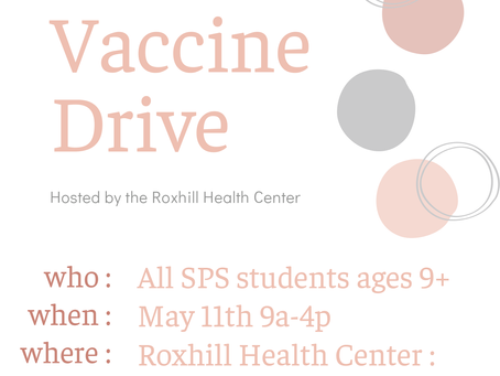 HPV Vaccine Drive for SPS Students