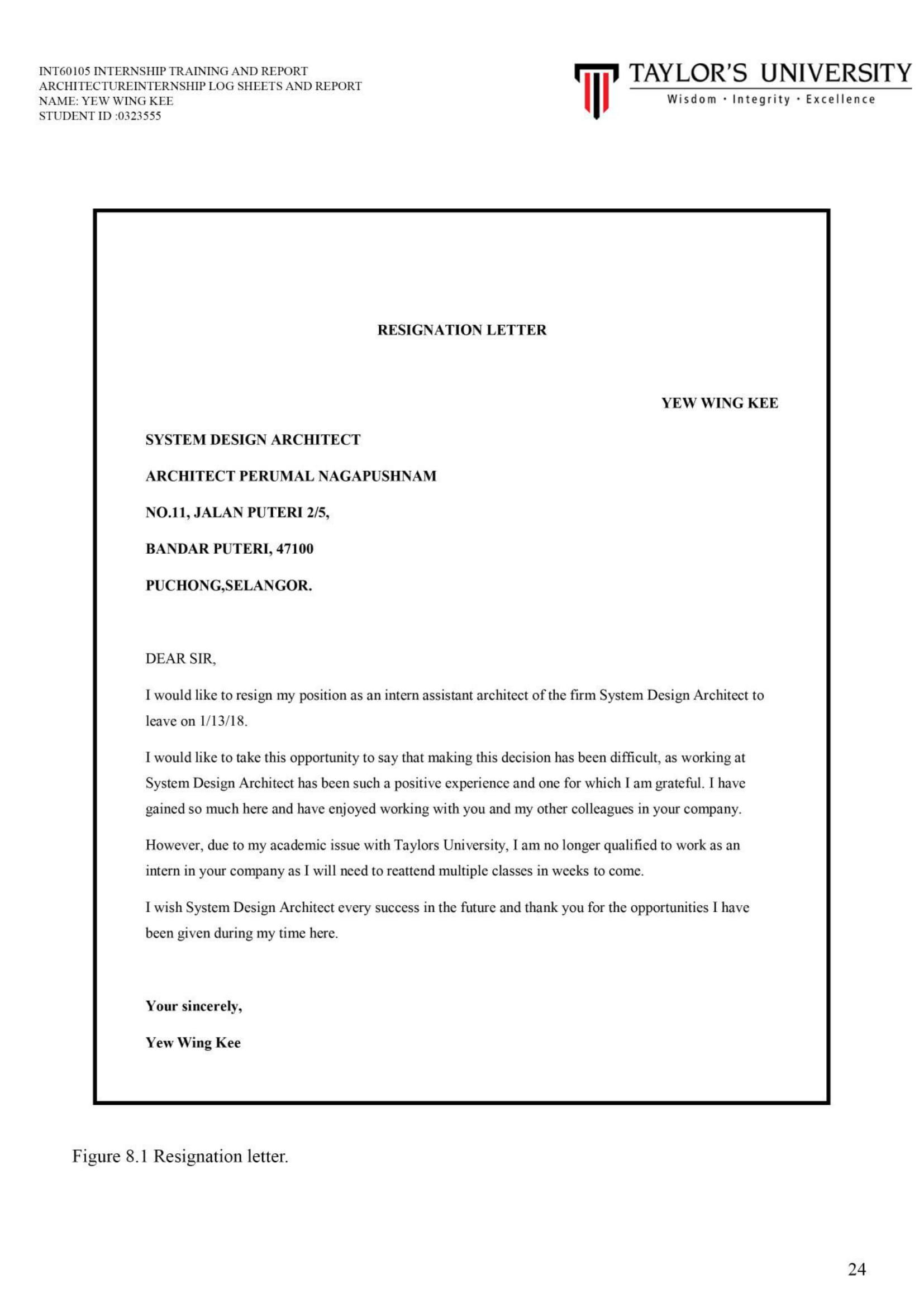 Internship Report | mysite