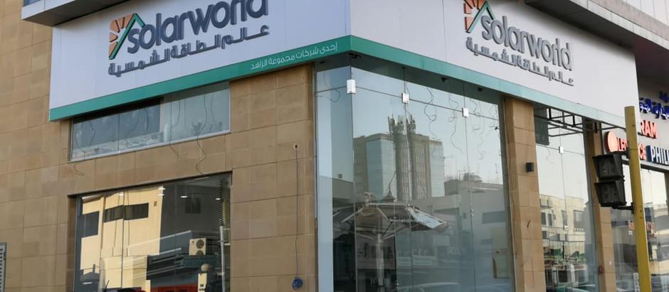 SolarWorld Opens Flagship Branch