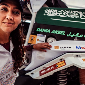 Dania Akeel - Now in First Place in the FIA Cross Country Bajas World Cup