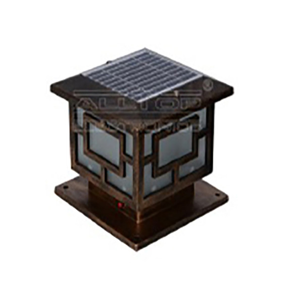 Solar Integrated LED Garden Lamp 3W 0720