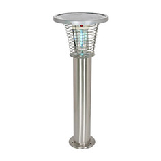 Solar Mosquito Killer with LED Lamp 12W
