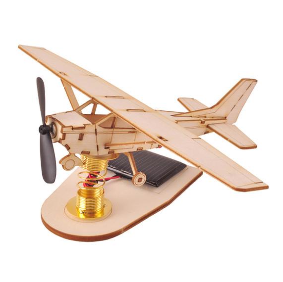 Solar Cell Light Airplane TM108