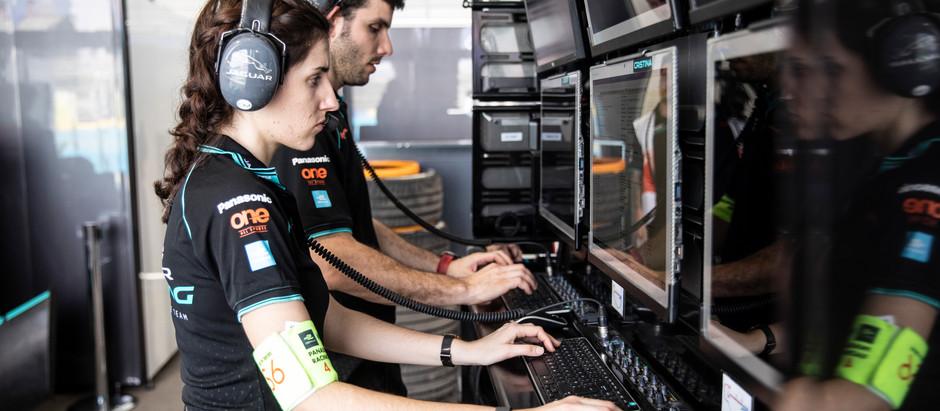 Meet Cristina Manas, a Formula E Performance Engineer at Jaguar Racing