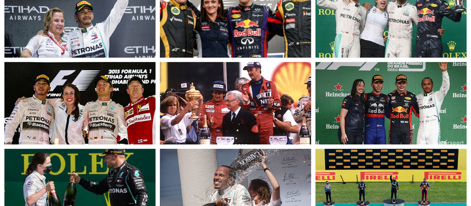 Meet the women to have stood on the Formula 1 podium