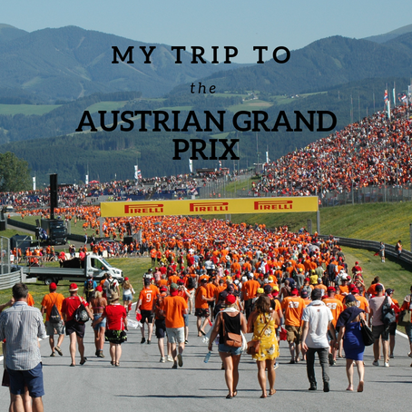 My trip to the Austrian Grand Prix