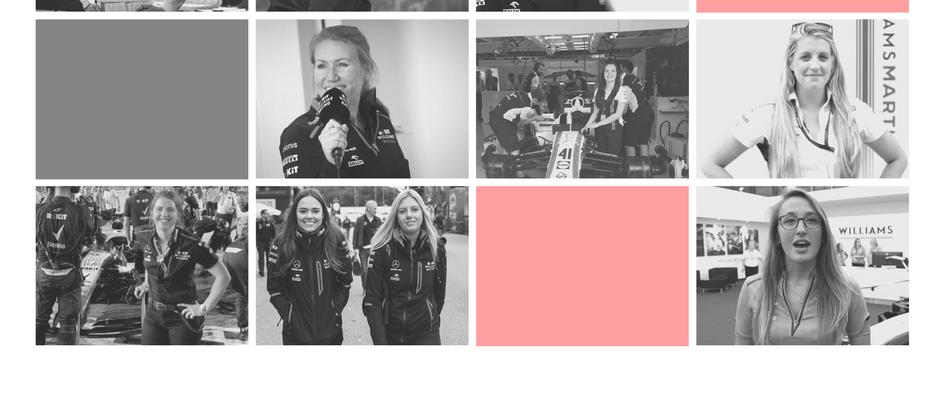 The Women of Williams F1
