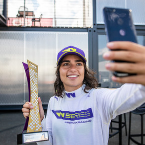 From grassroots motorsport to competing on a global stage: W Series 2021 contender Jamie Chadwick