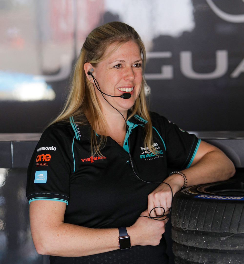 Deborah Lyall, Assistant Team Manager at Jaguar Racing