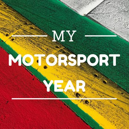 My motorsport year