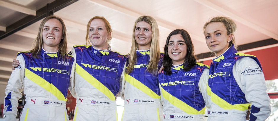 """Sarah Moore: """"To be on the grid is an amazing achievement for myself"""""""