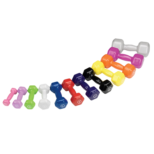 Body Solid Vinyl Dumbbells