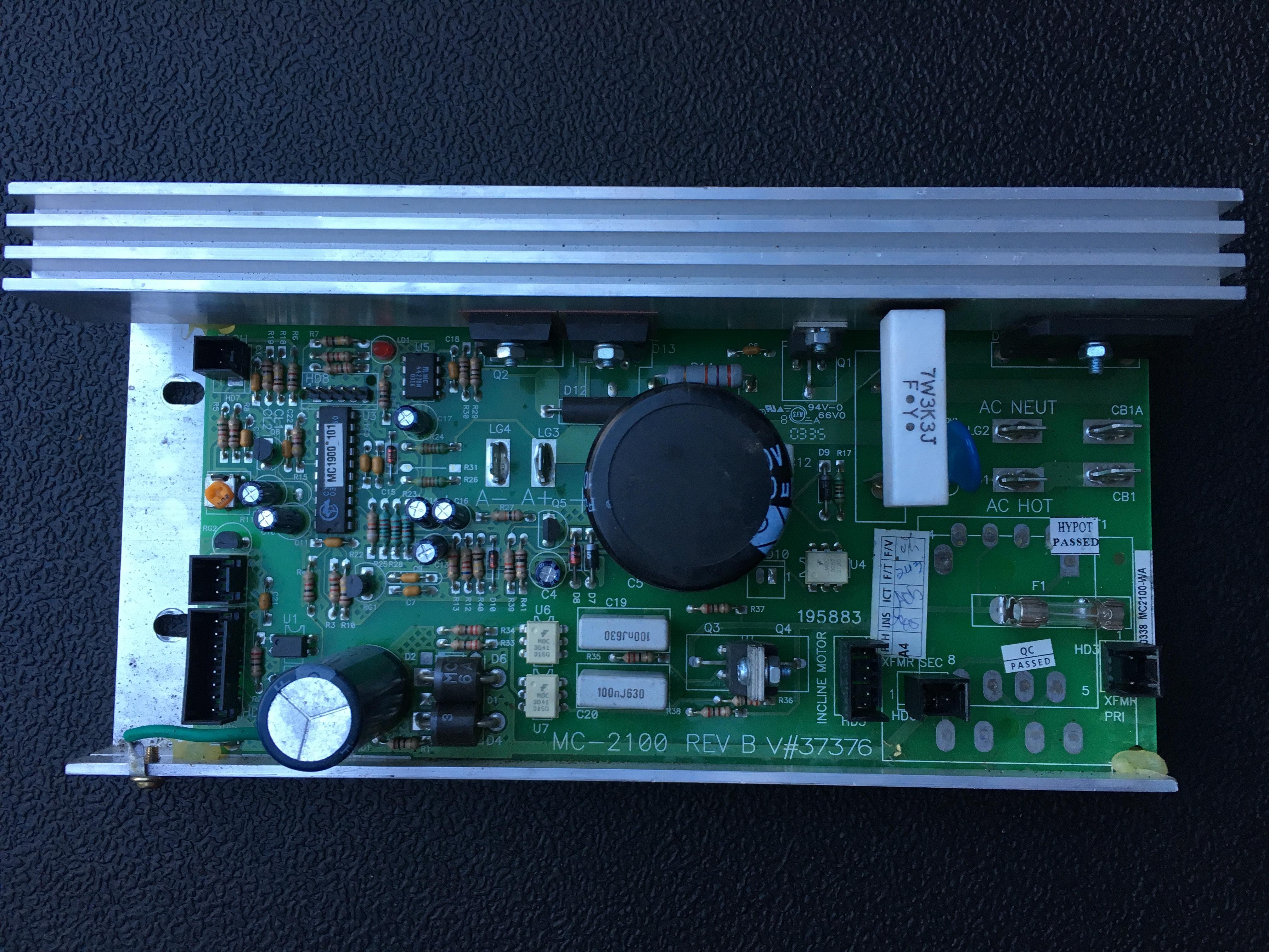 Proform 595 Pi Treadmill Motor Control Board
