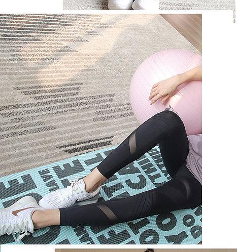 Run Star W/Mesh Yoga Pants