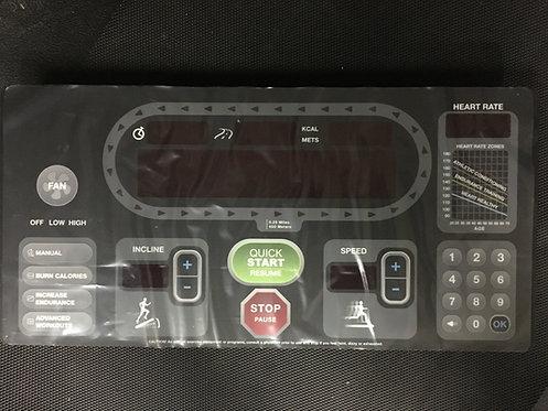 Star Trac STDP 6000-TRC Console Overlay