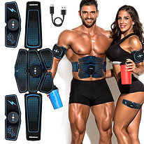 EMS Electrical Muscle Stimulator Belt plus