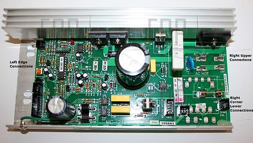 Icon Fitness MC2100WA Motor Control Board