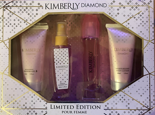 Kimberly Diamond Limited Edition Pour Femme Gift Set