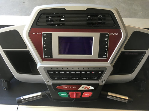 Sole Treadmill Console Display