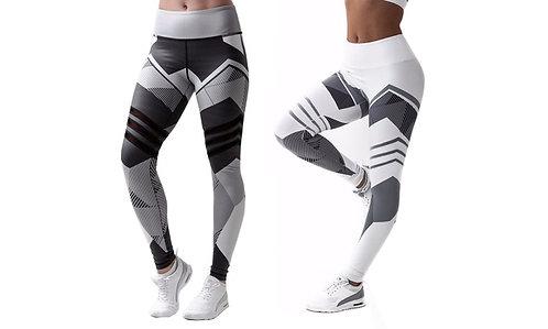 3D GEO Yoga Pants