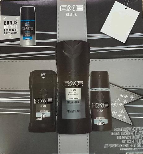 AXE Black 4 pack gift set