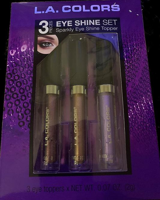 LA Colors 3 piece eye shine set