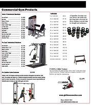 Gym Brochure