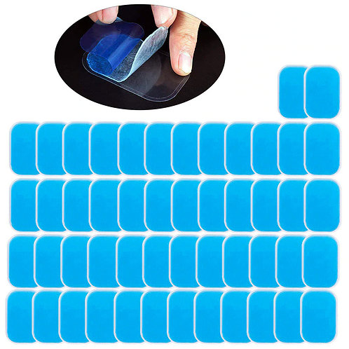50ct replacement gel pads for the EMS Trainer