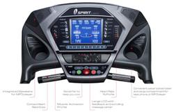 Spirit Fitness XT485 Treadmill Conso