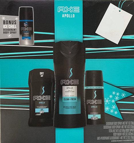 AXE Apollo 4 pack gift set