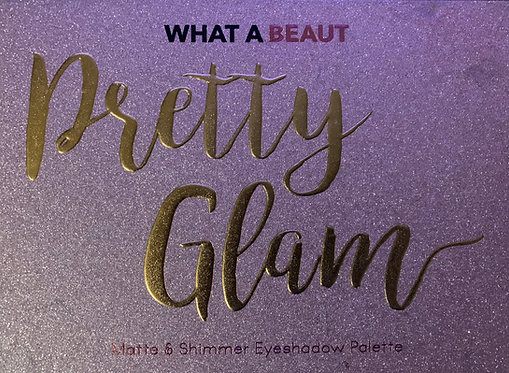 What A Beaut Pretty Glam Matte and Shimmer Eyeshadow