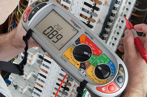 EICR Test Equipment Bawn Electrical Ltd Electrician Horley Surrey