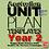 Thumbnail: Australian Unit Plan Templates - Year 2