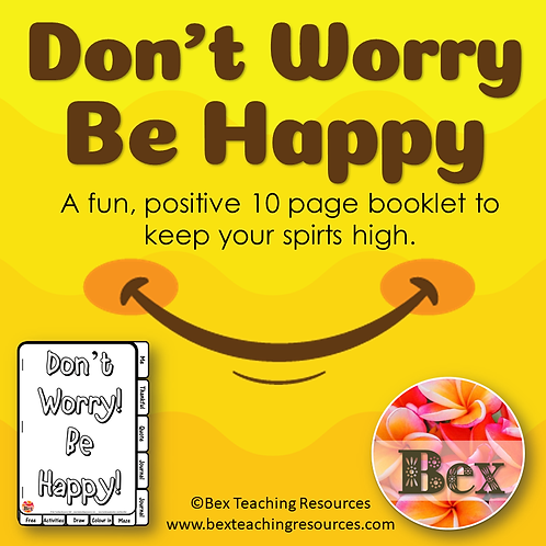 Don't Worry Be Happy Booklet