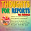 Thumbnail: Thoughts For Reports