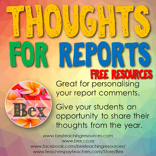 Thoughts For Reports
